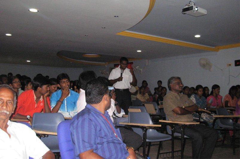 Honeykart Lecture in Engineering college