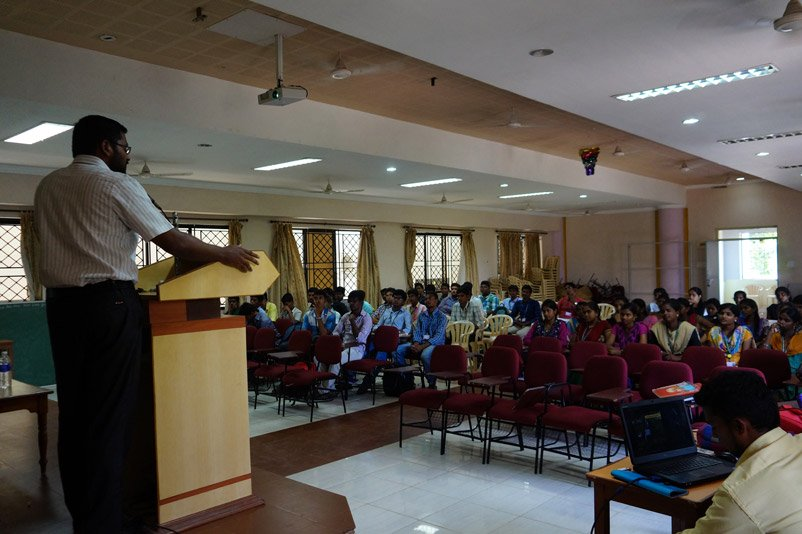 Honeykart Lecture in Arts and science college