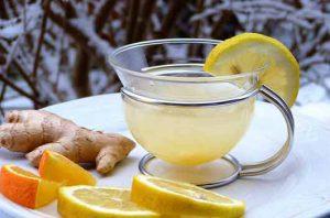 honey with lemon and ayurvedha medicine